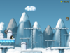 Screenshot of level Above the Arctic Skies